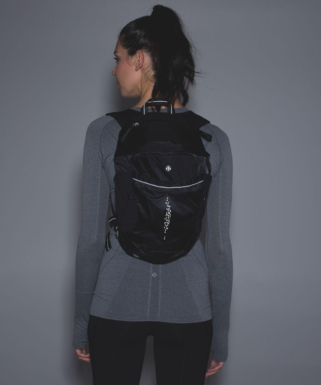 Lululemon Run All Day Backpack  Black  lulu fanatics