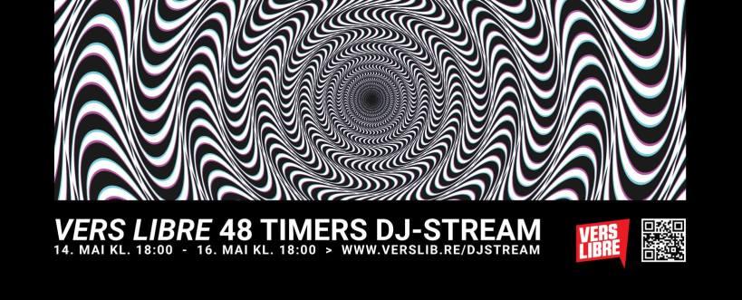 Vers Libre 48 timers DJ-stream