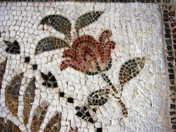 Easy Roman Mosaic of Flowers