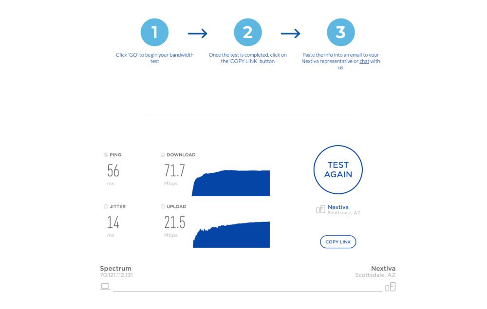 medium resolution of voip speed test results