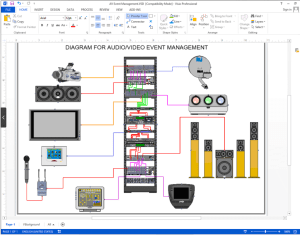 Create Visio AudioVideoWiring Diagrams | NetZoom