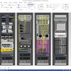 Telecom Network Diagram Microsoft Drayton Central Heating Programmer Wiring Netzoom Visio Stencils
