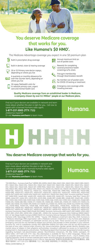 MONDAY OCTOBER 19 2020 Ad - Humana Group Medicare ...