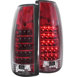 details about fits chevrolet gmc c k 1500 2500 3500 tail light left driver right passenger [ 1500 x 1500 Pixel ]