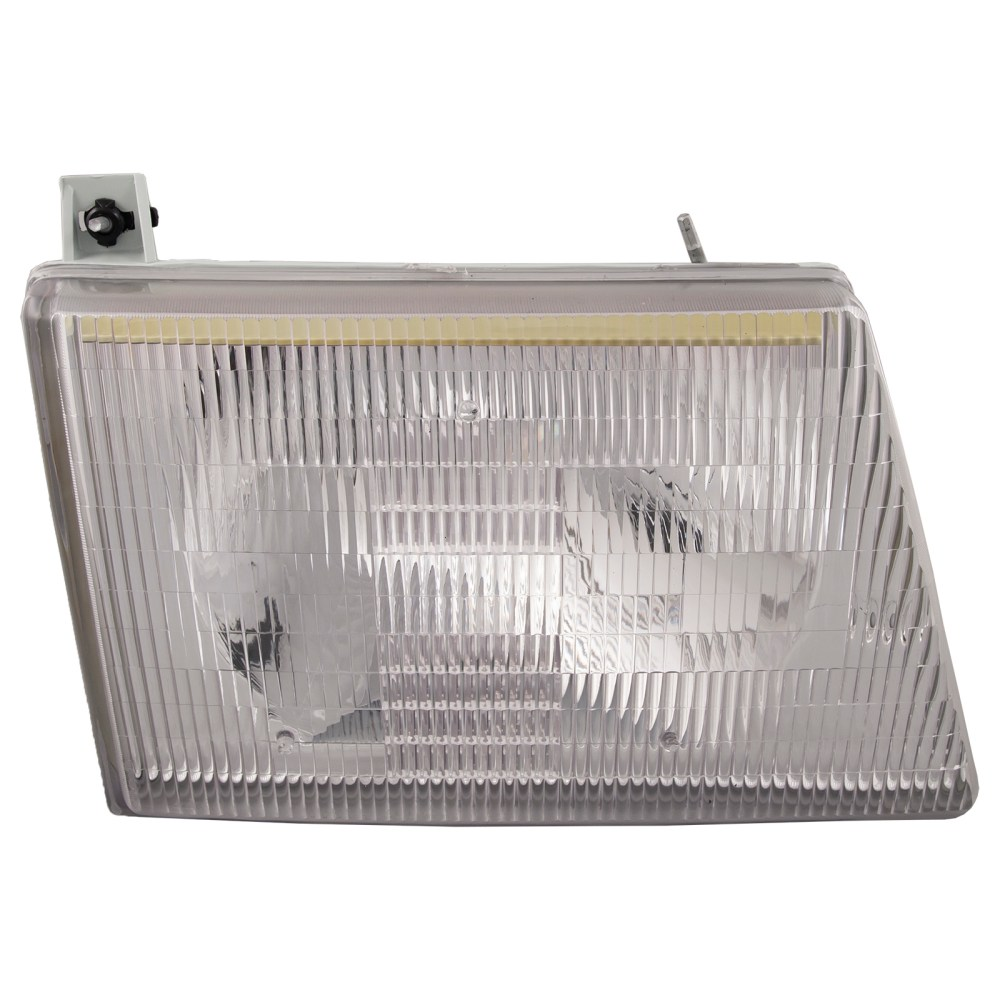 medium resolution of details about fits 92 07 ford econoline w composite lights headlight halogen right new