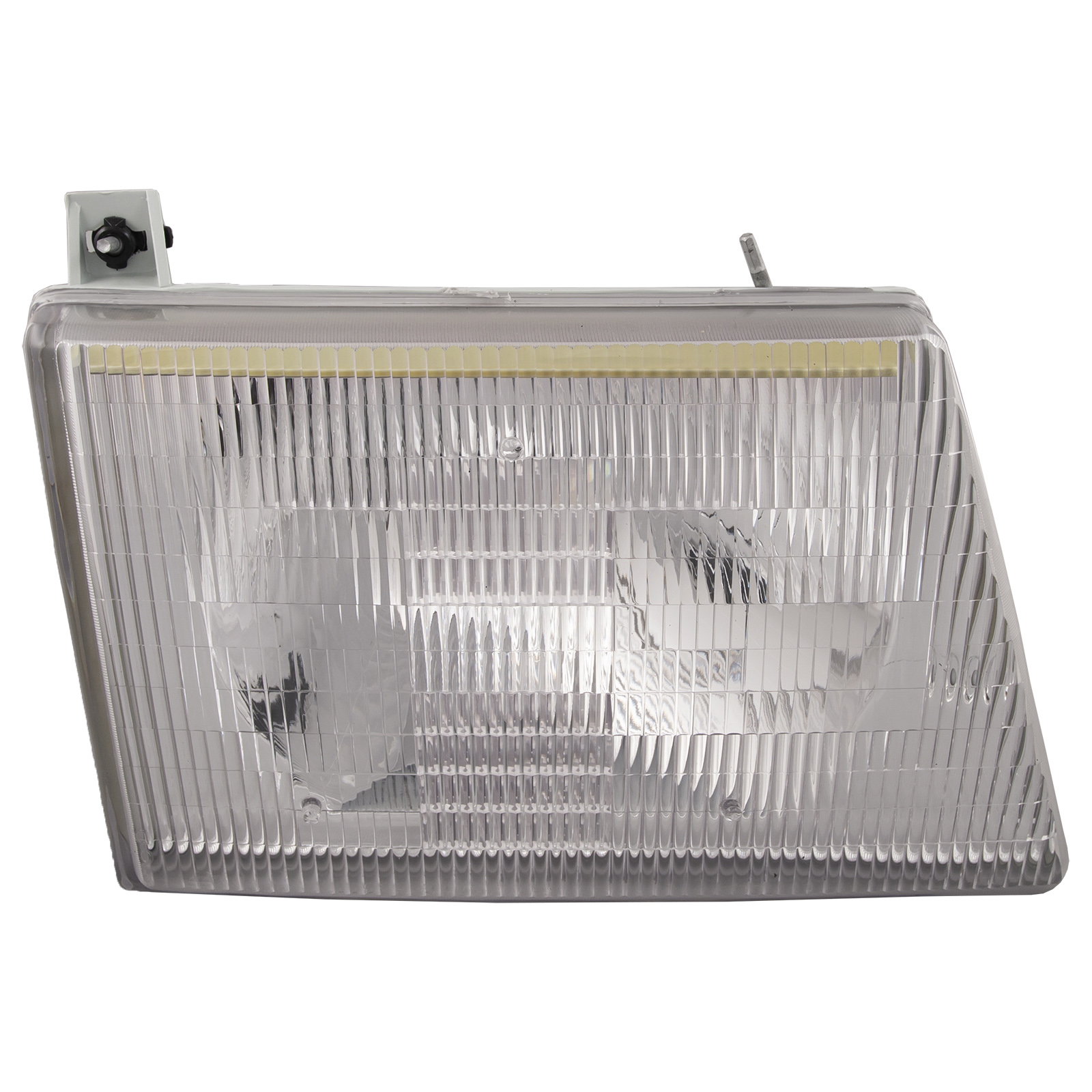 hight resolution of details about fits 92 07 ford econoline w composite lights headlight halogen right new