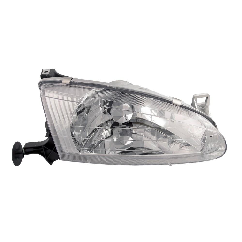 medium resolution of 98 02 chevy geo prizm headlight headlamp passenger side halogen new