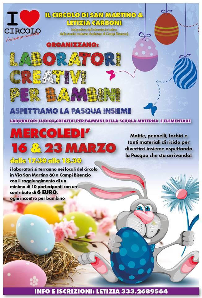 San Martino Due Laboratori Creativi Per Prepararsi Alla Pasqua