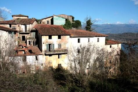 La Mappa dell'Abbandono - Borgo di Castelnuovo dei Sabbioni - Cavriglia (AR) - G.Zaganelli