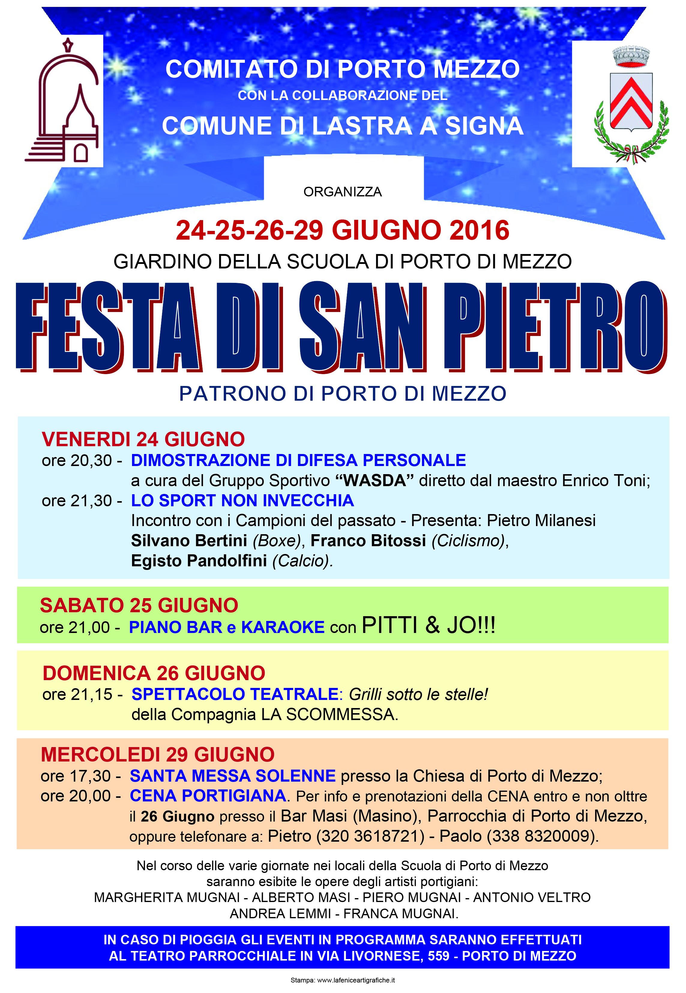 Porto Di Mezzo Festeggia Il Patrono Quattro Giorni Per