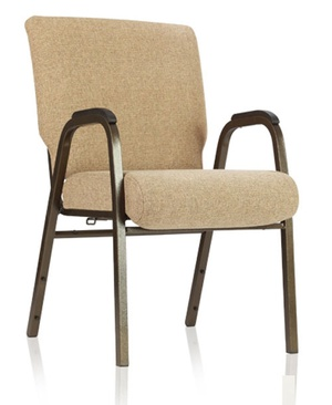 chair with arms rocking patio church stacking comfortek partner chairs