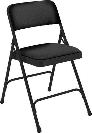 black padded folding chairs gray wicker chair 2200 series national public seating church partner