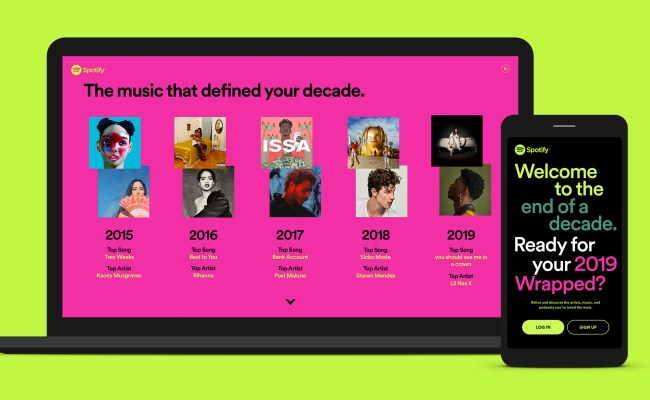 Spotify Wrapped 2019 Reveals Your Streaming Trends From