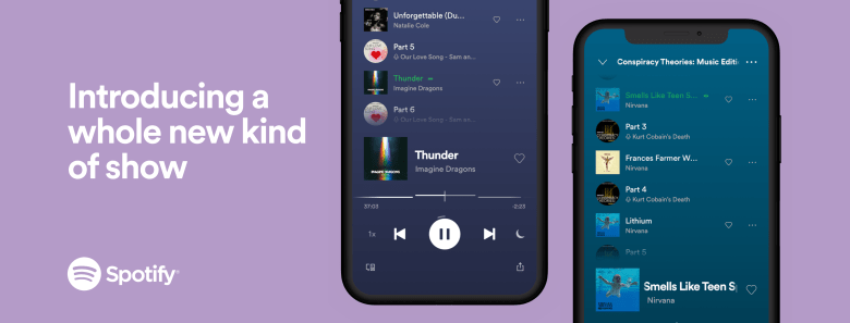 Spotify Launches New Audio Experience Combining Music and Talk Content —  Spotify