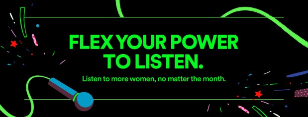 EQUAL will boost women's voices on Spotify's platform, social media, and in upcoming initiatives. (Image credit: Spotify)