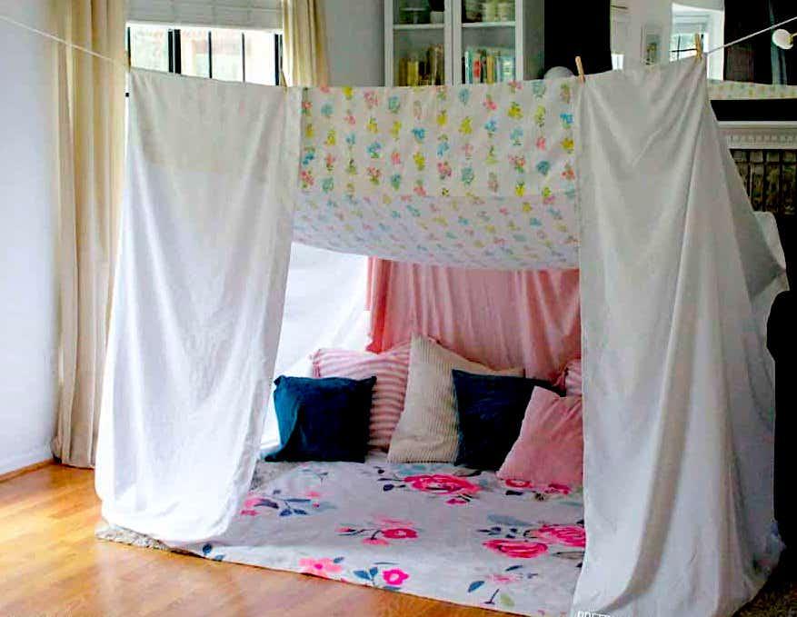 build a blanket fort san rafael