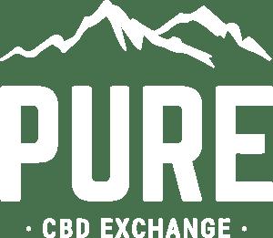 White Pure CBD Exchange Logo