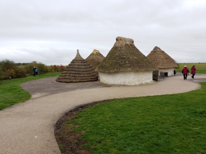Where the builders for Stonehenge stayed in.