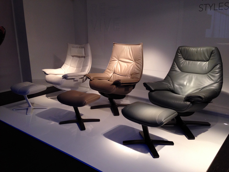 natuzzi lounge chair walmart patio cushions re viving the recliner port magazine revive recliners milan dec 2013