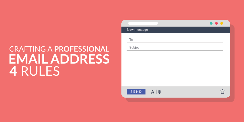 Crafting A Professional Email Address 4 Rules Appinstitute