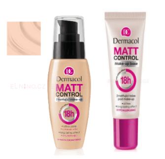 Dermacol Matt Control MakeUp + Podkladová báze