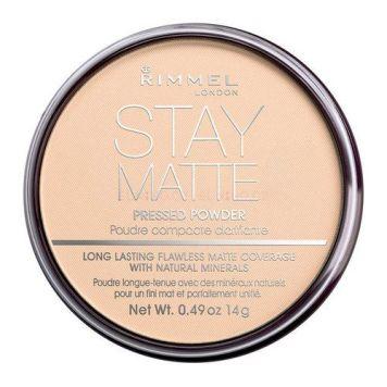 Kompaktní pudr Rimmel London Stay Matte Long Lasting Pressed Powder
