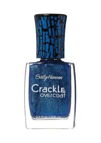 Vrchní lak Sally Hansen Crackle Overcoat vytvoří originální mozaiku.