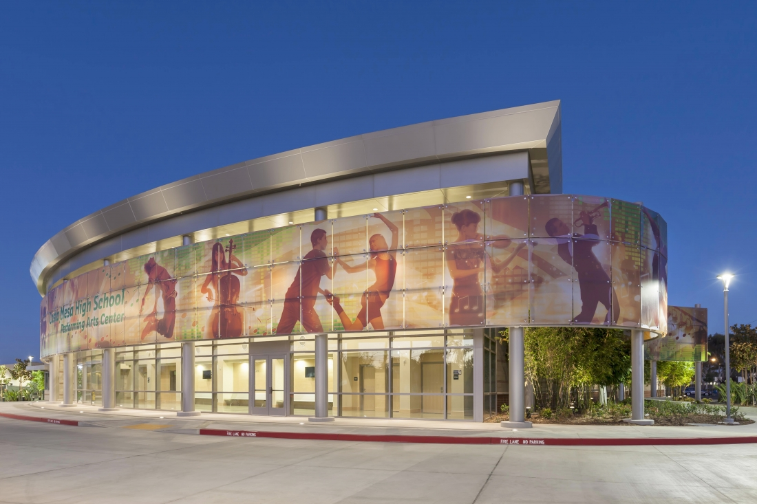 Costa Mesa High School Performing Arts Center  Sinanian