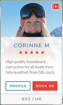 Corinne M Instructor Verbier