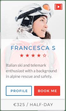 Francesca S Instructor Chamonix