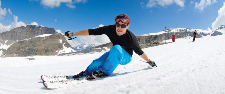 summer skiing in val d'isere