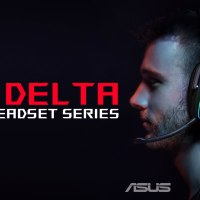 ASUS Republic of Gamers Anuncia Liena de Headset  ROG Delta and ROG Delta Core