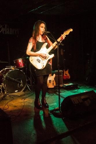 Raina Bee at The Delancey (glamglare showcase)