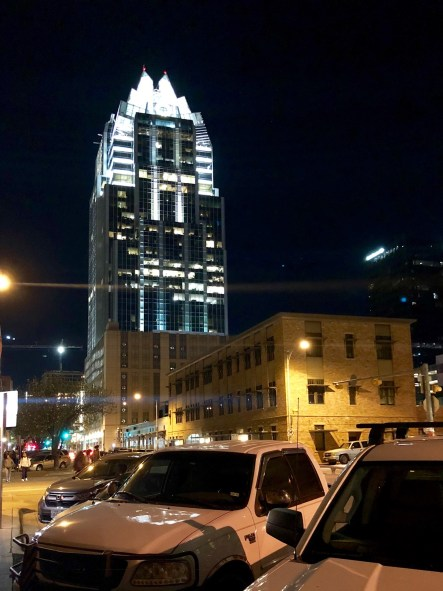 Austin by night