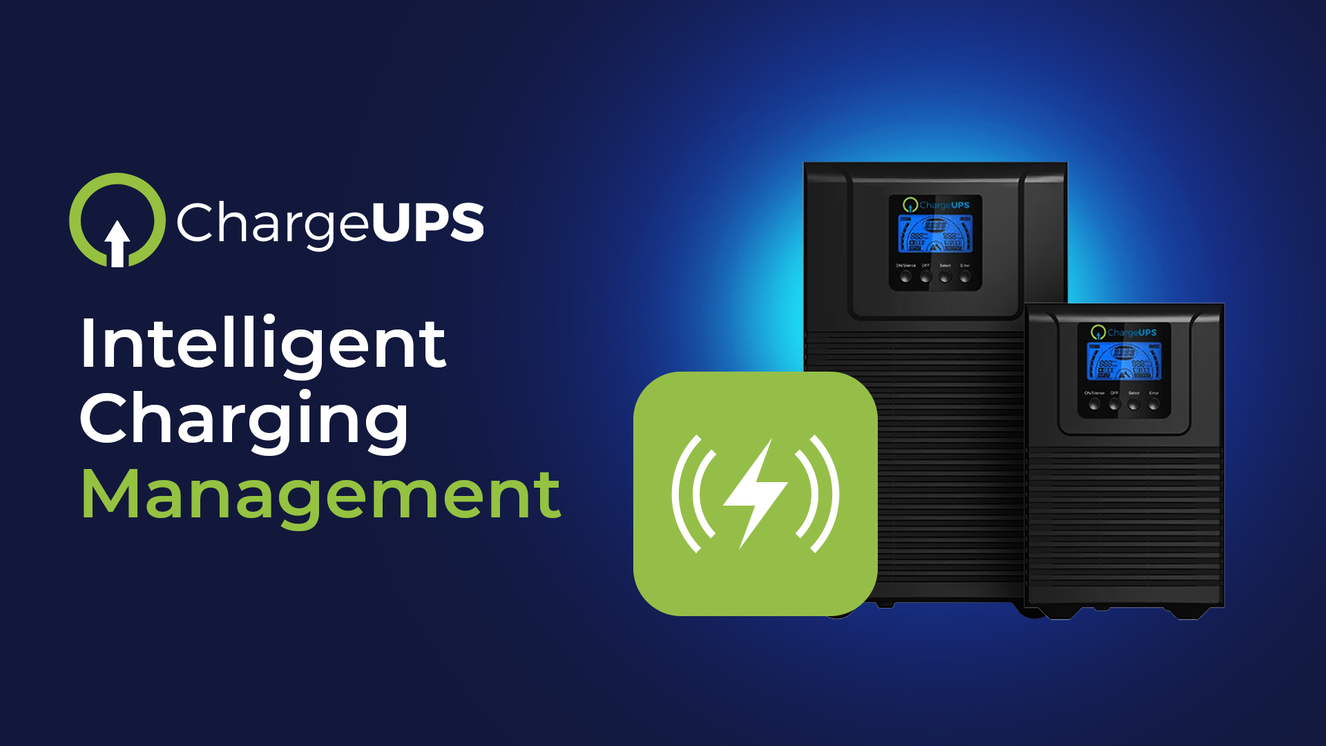 ChargeUPS Intelligent Charging Management