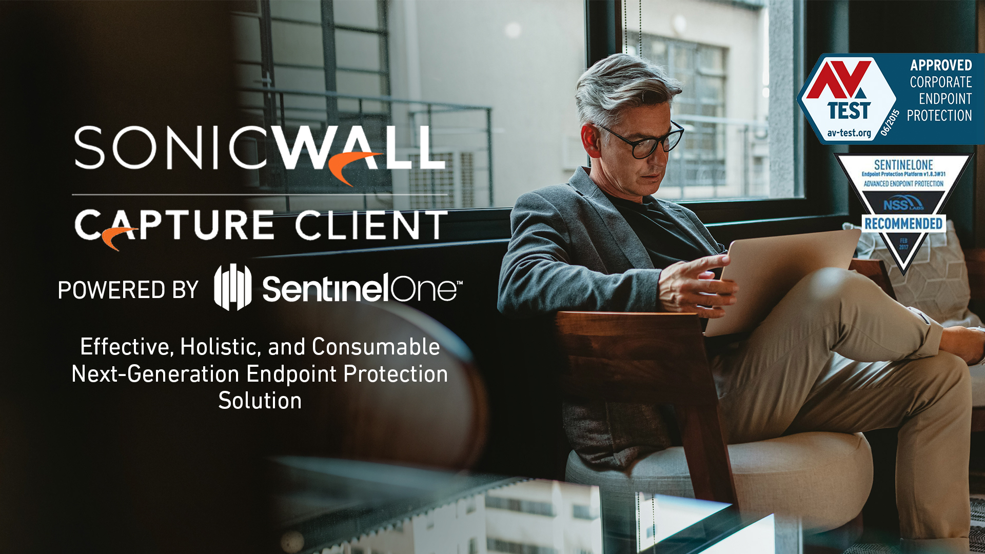 Sonicwall Capture Client powered by SentinelOne
