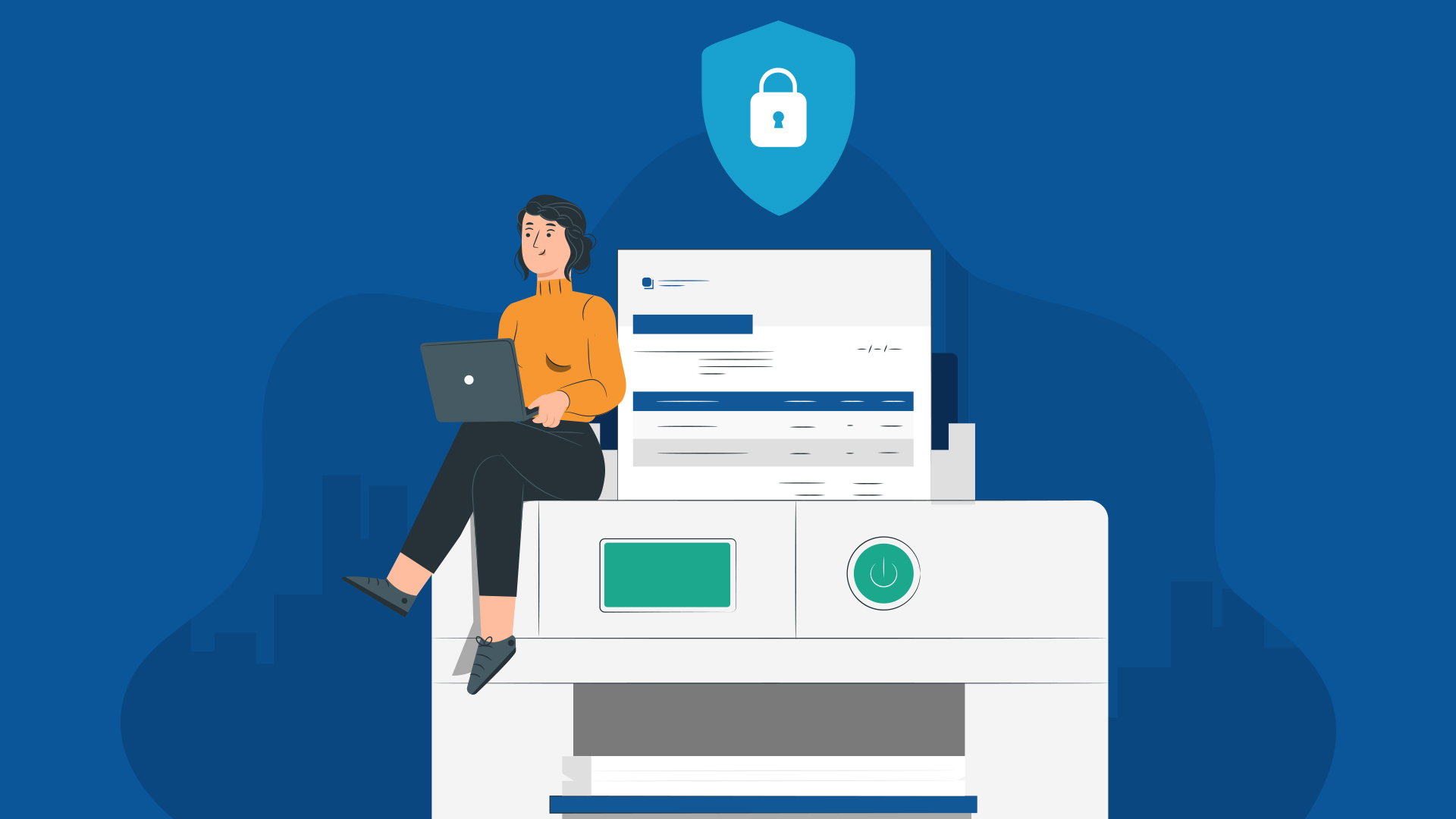 What is secure print and why is it important for your organization?