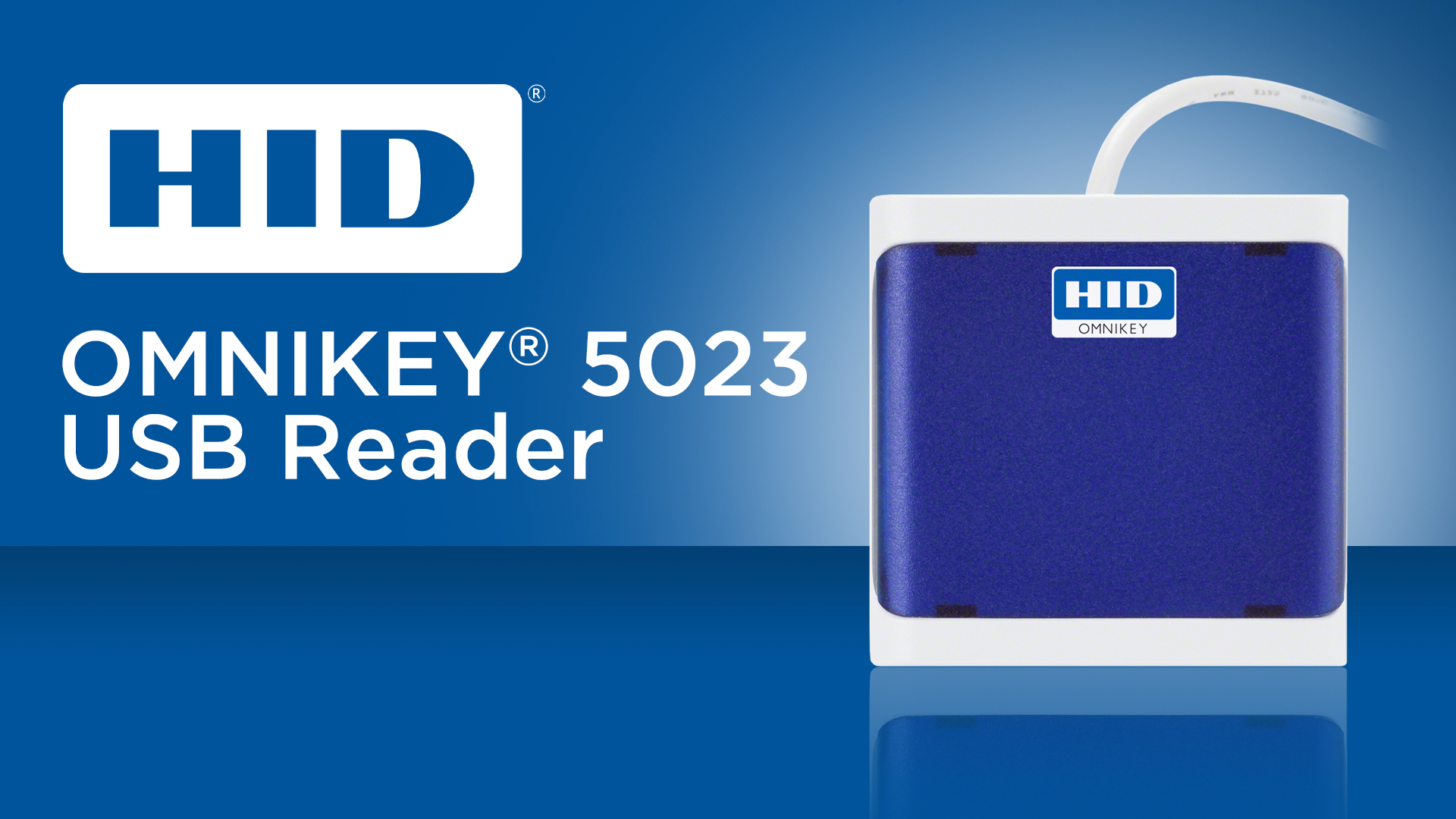 HID Omnikey 5023 USB Reader