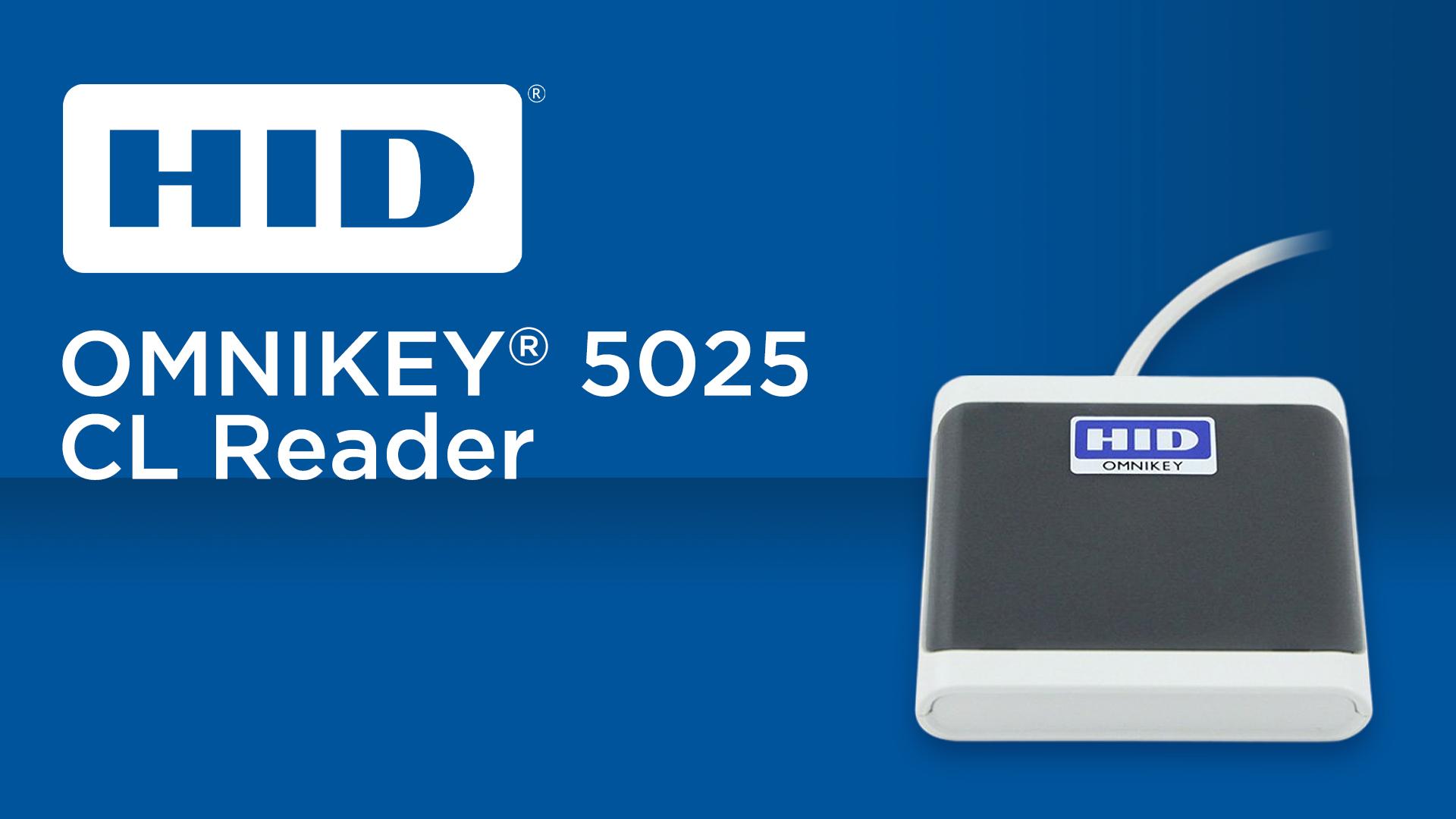 HID Omnikey 5025 CL Reader