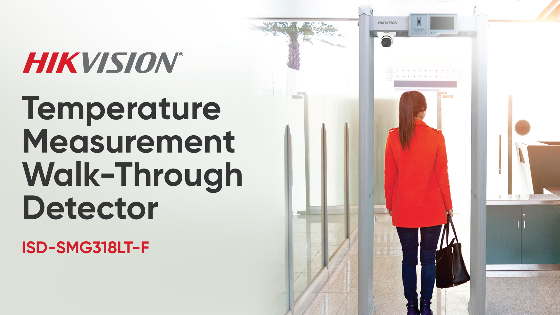 Hikvision Temperature Measurement Walk-Through Detector