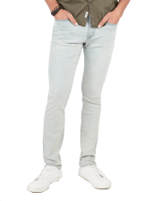 Slim Light Wash Hyper Stretch Jeans Express Mens