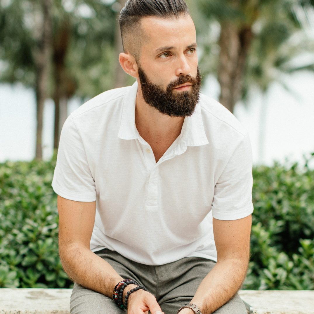 Michael Checkers men's fashion influencer in Miami