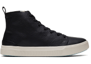 Toms Water-Resistant Leather Men's TRVL LITE High Sneakers