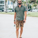 michael checkers street style photo in miami beach