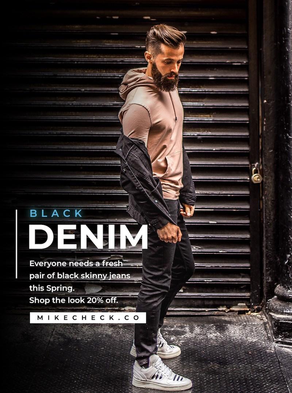 Men's Street Style blog outfit idea