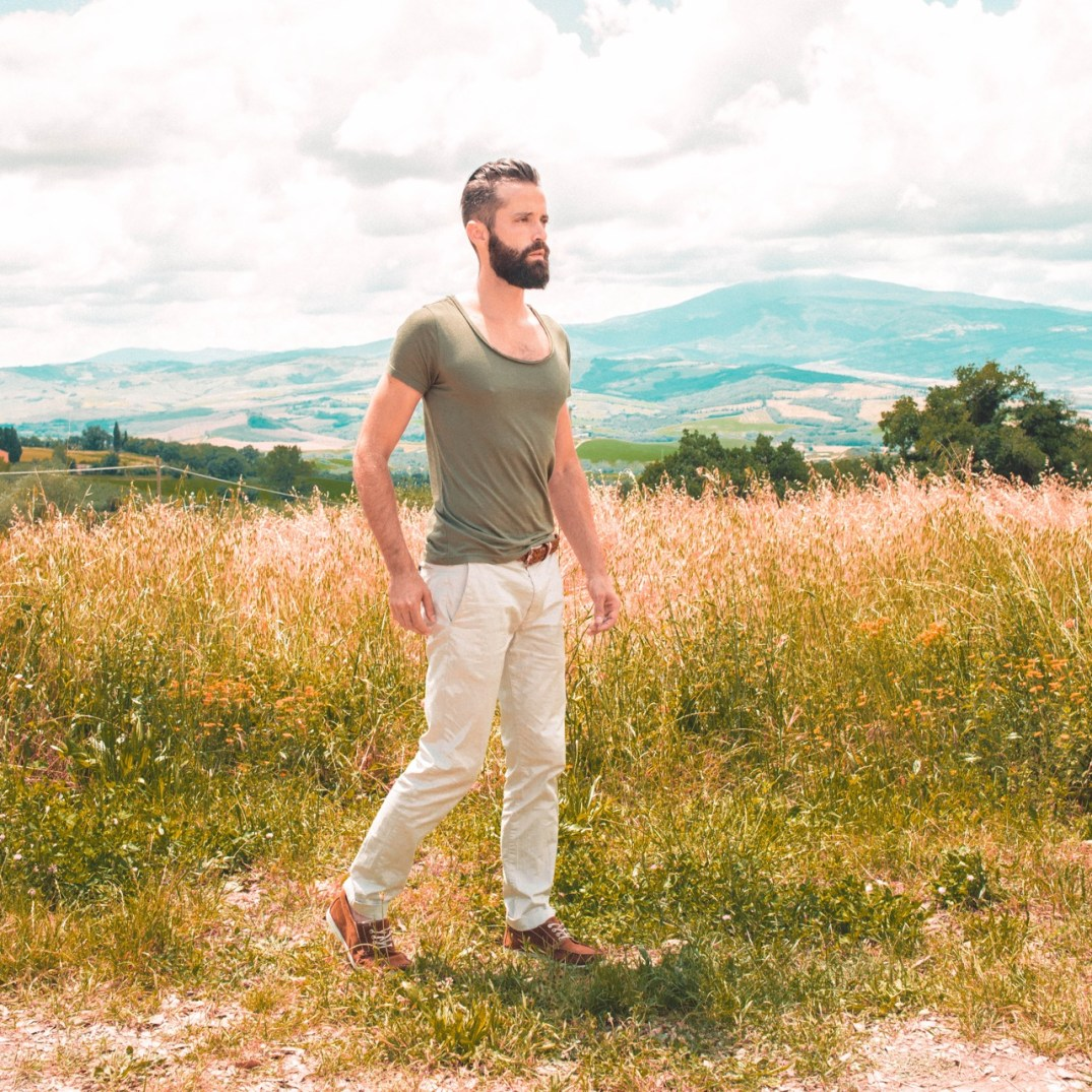 Michael Checkers Men's Fashion Blogger Streetwear Look 015 - Tuscany Italy Summer