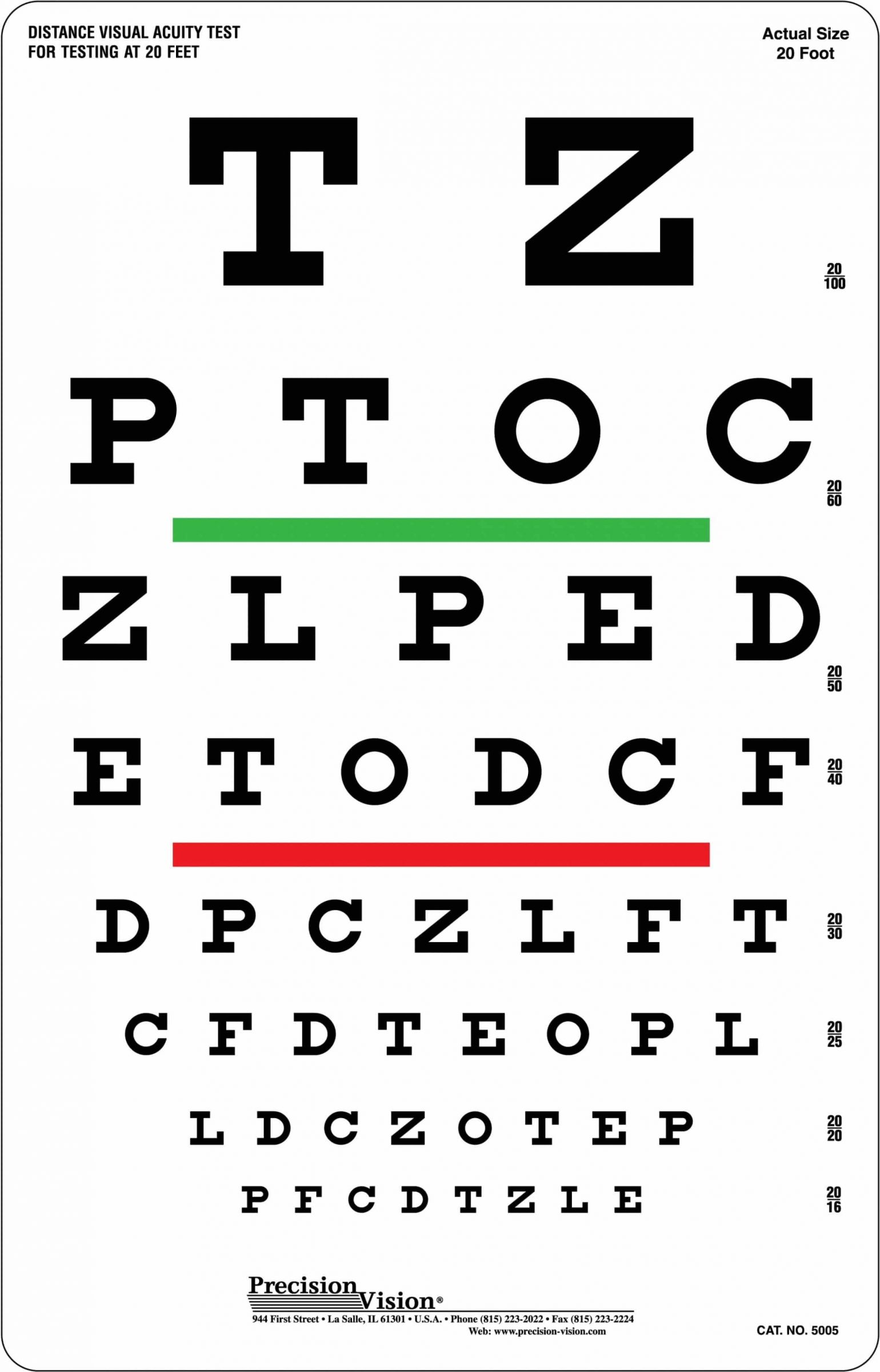 Are All Eye Charts The Same : charts, Snellen, Chart, Visual, Acuity, Color, Vision, Precision