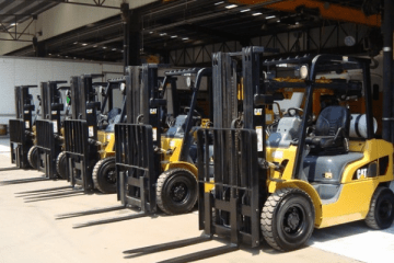 "featured image of the blog titled ""Reasons Used Forklifts Are Always in High Demand in the Market"""