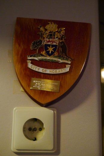 The Crystal Symphony souvenir of Hobart