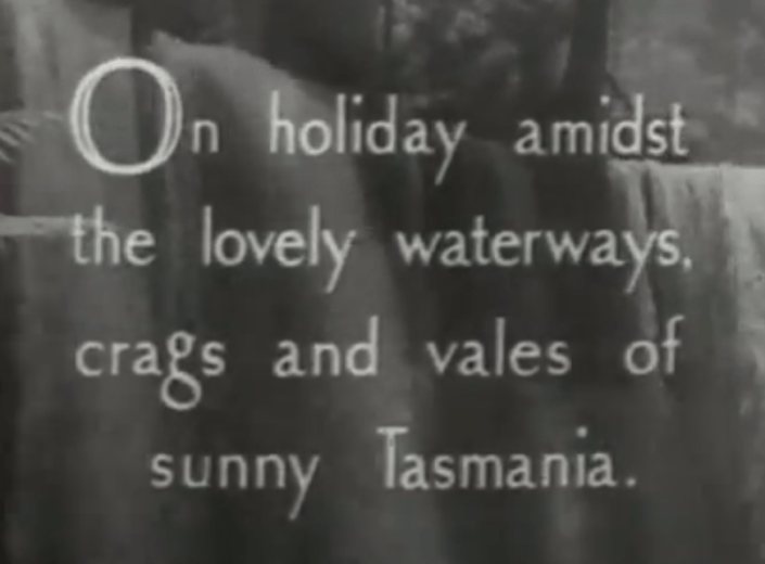 Screen Shot from The Isle of Many Waters by Frank Hurley--12.25